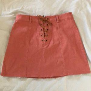 Dresses & Skirts - Pink Mini Skirt